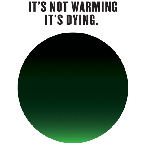 Milton Glaser's logo for climate change.