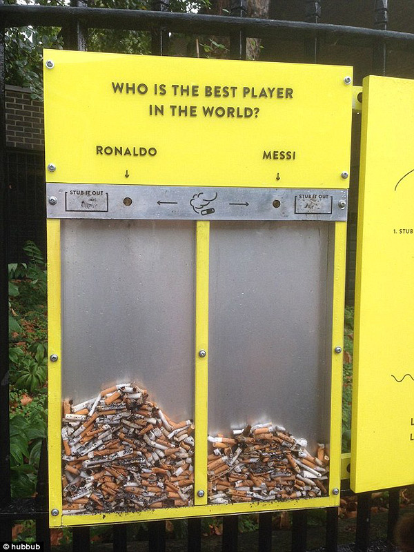 Brilliant Designs to Reduce London's Street Litter