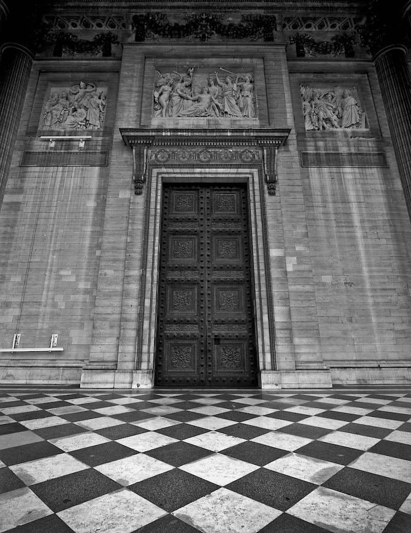 pantheon door