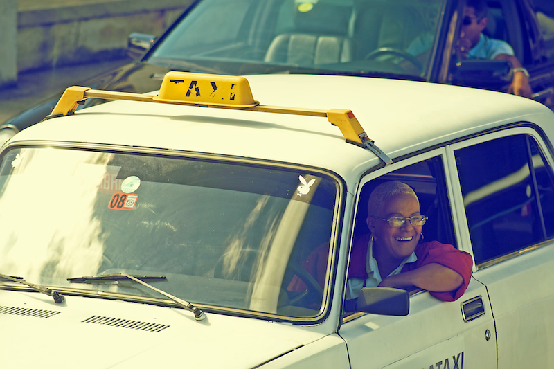 cab driver & playboy bunny