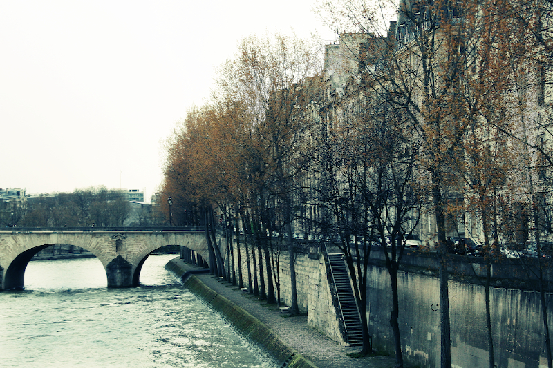 winter paris