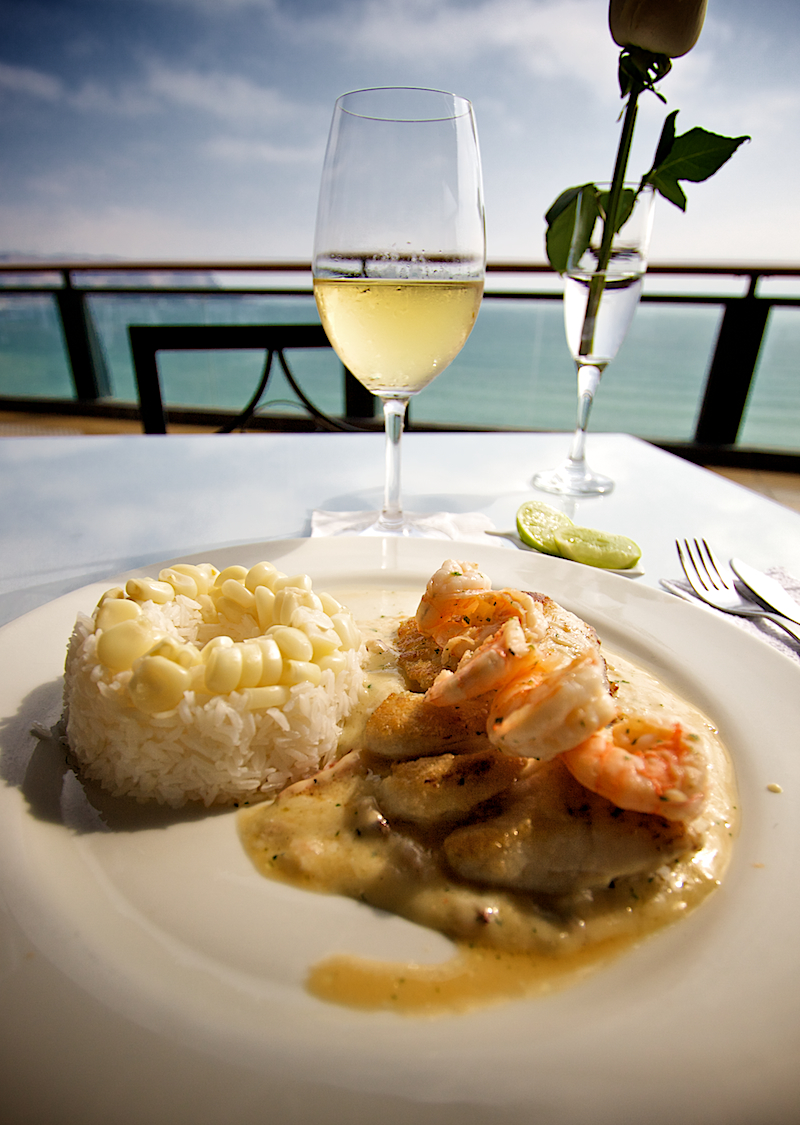 sole and chardonnay