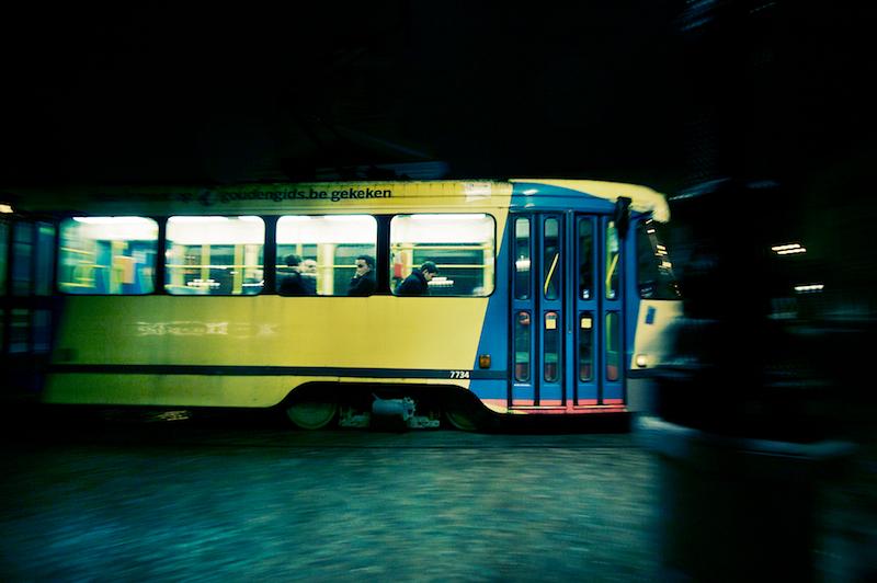 tram riders
