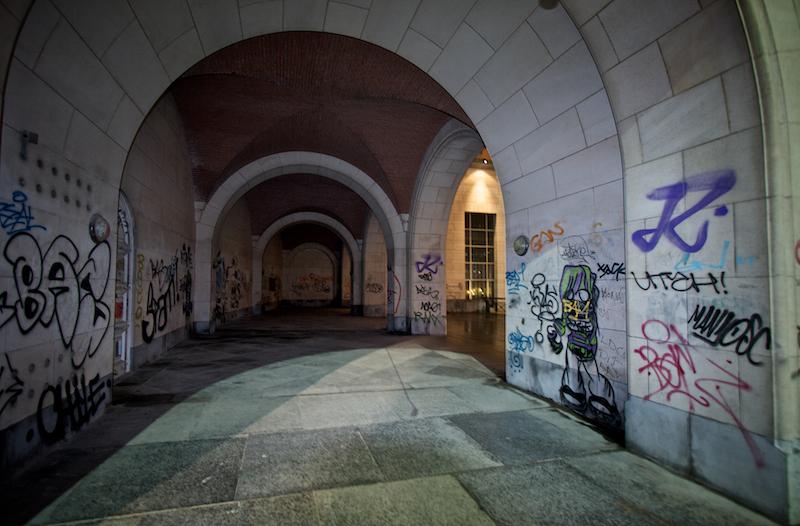 graffiti tunnel