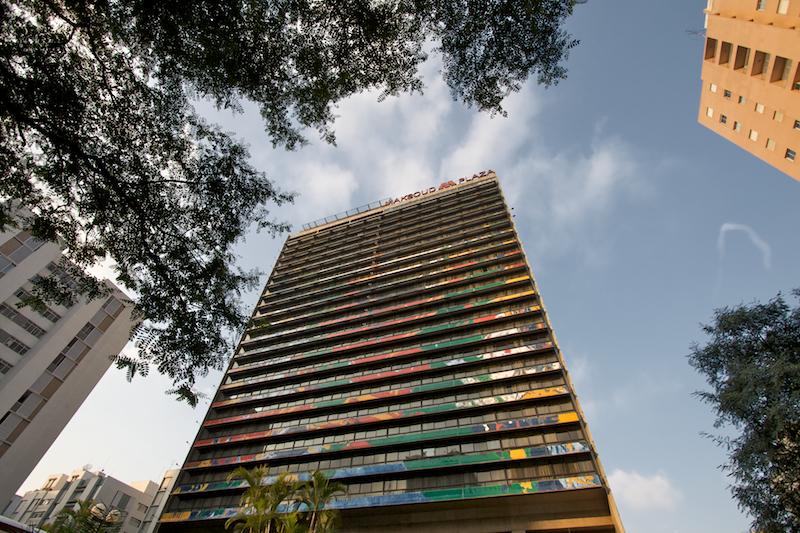 colored hotel