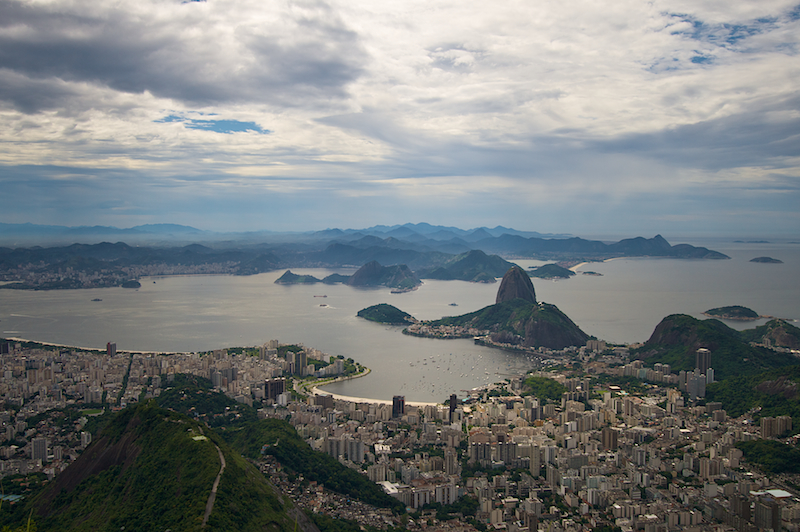 from the corcovado
