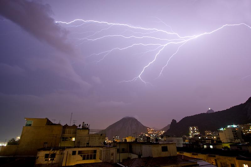 redeemer & lightning