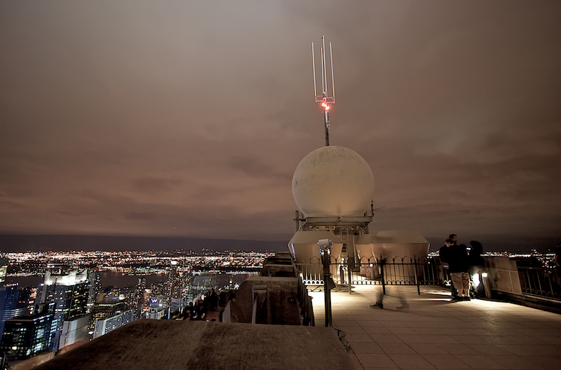 top of the rock antenna