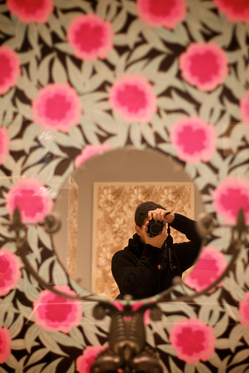self on flowers