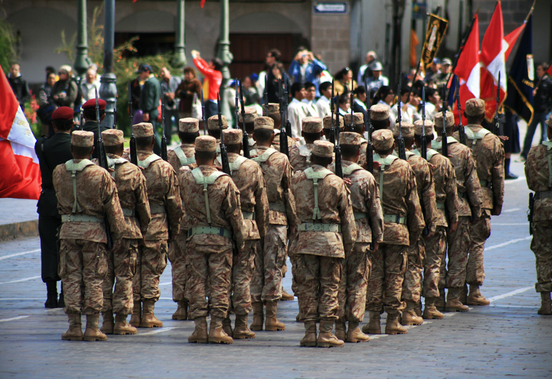 cusco soldiers