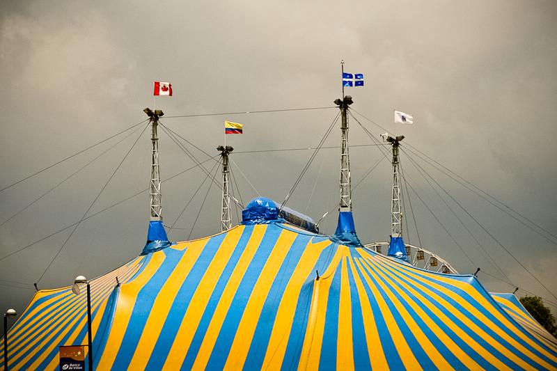 cirque tent