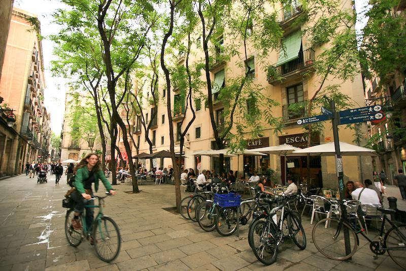 barcelona biker