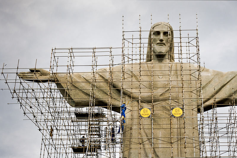 jesus' armpit