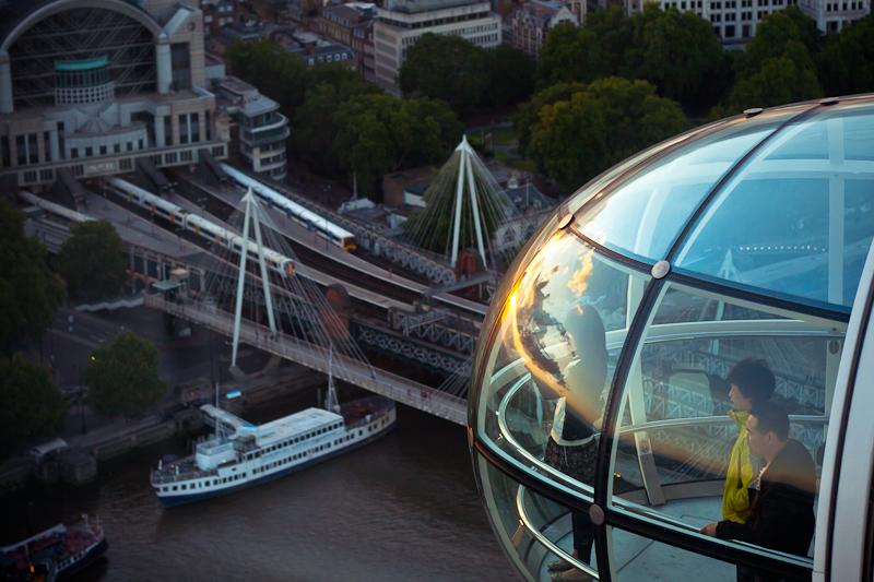 london sunset shooter