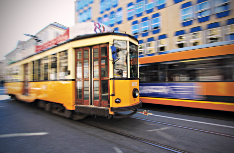 milan trolly