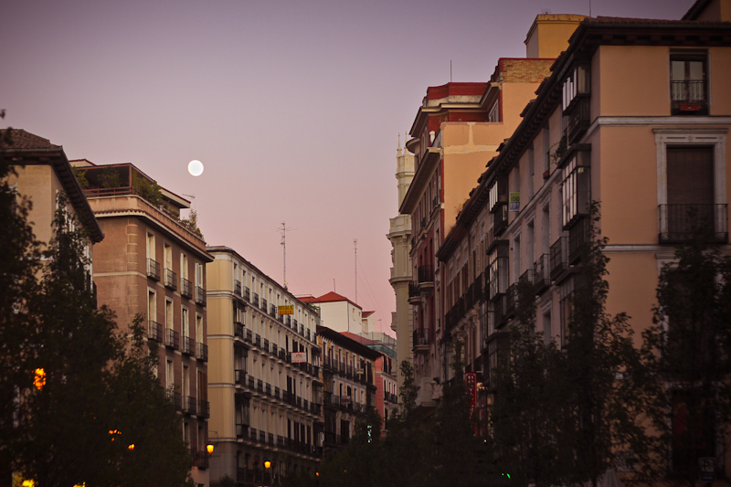 madrid moon
