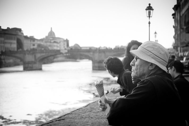ice cream in florence