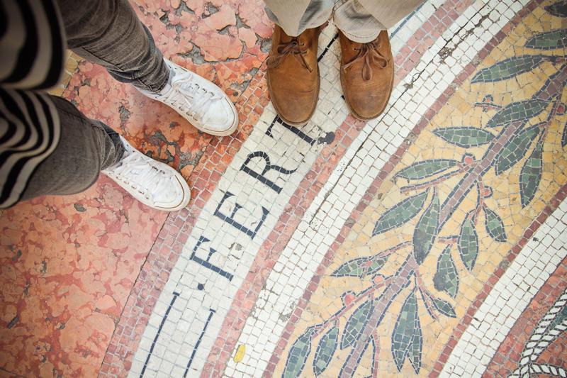 feet on milan