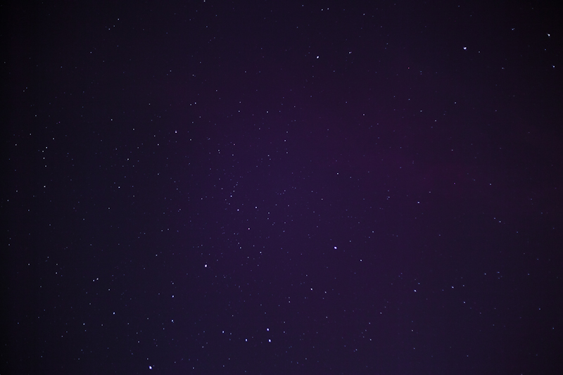 pink over stars