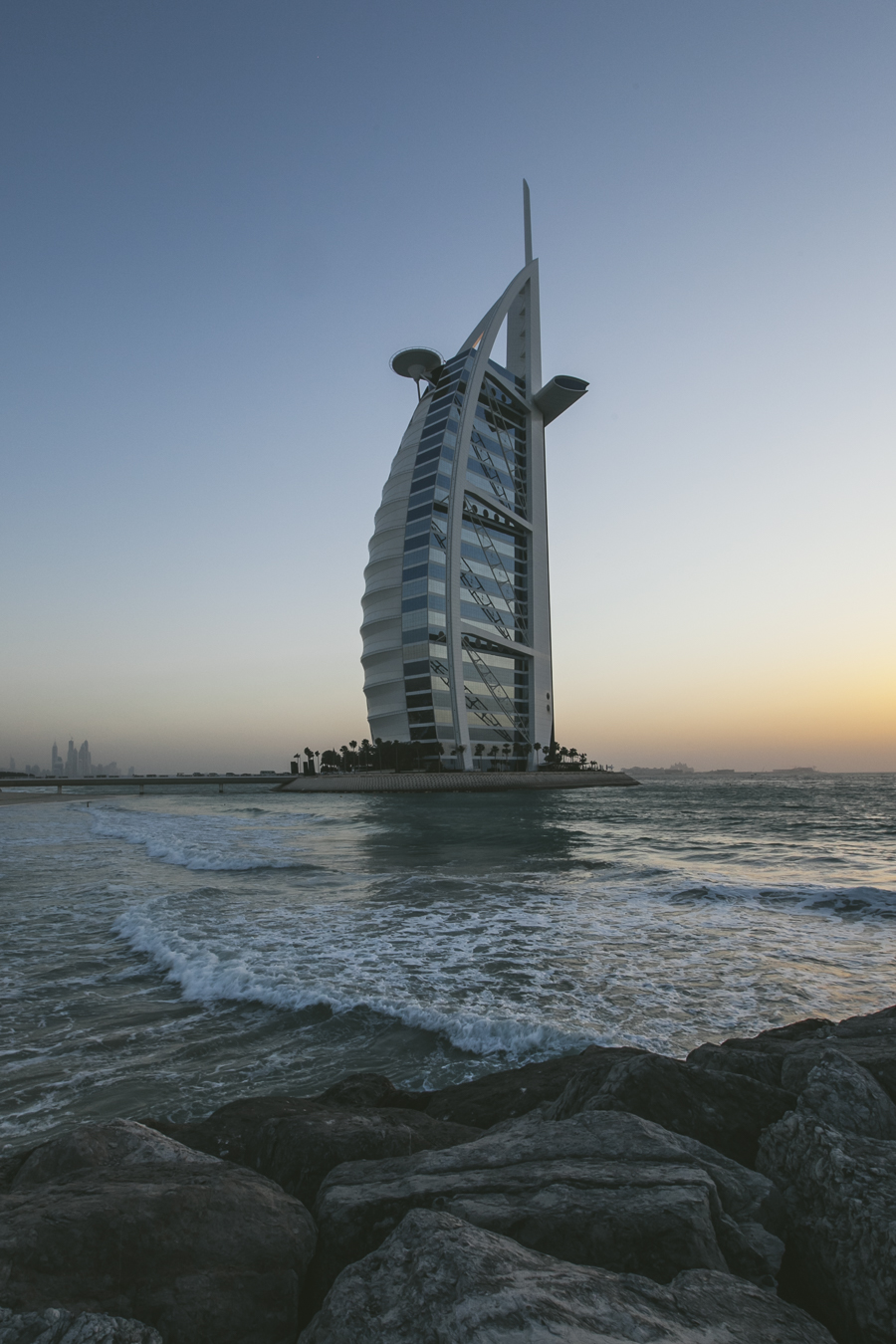 Burj Al Arab Hotel, Dubai, UAE.