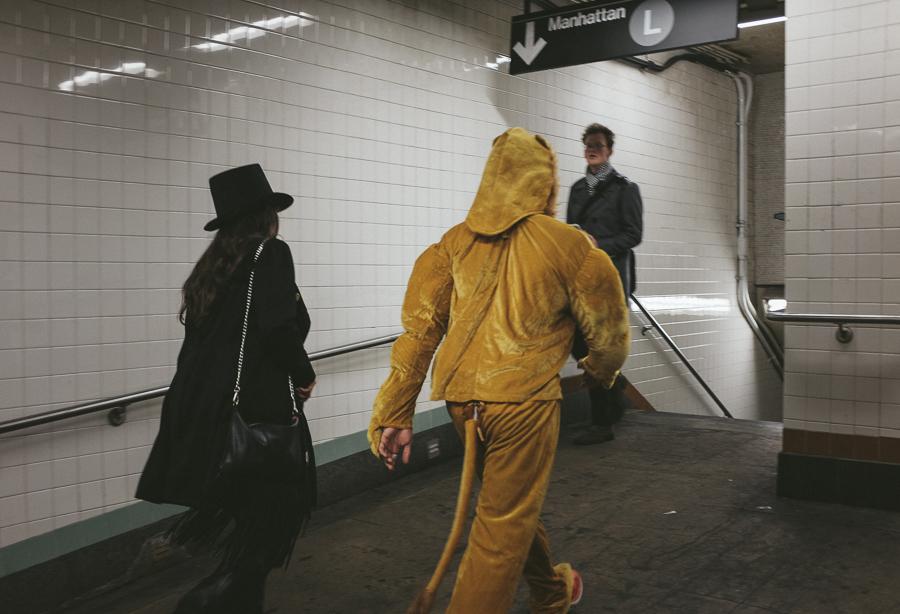 Halloween 2015, NYC Subway.