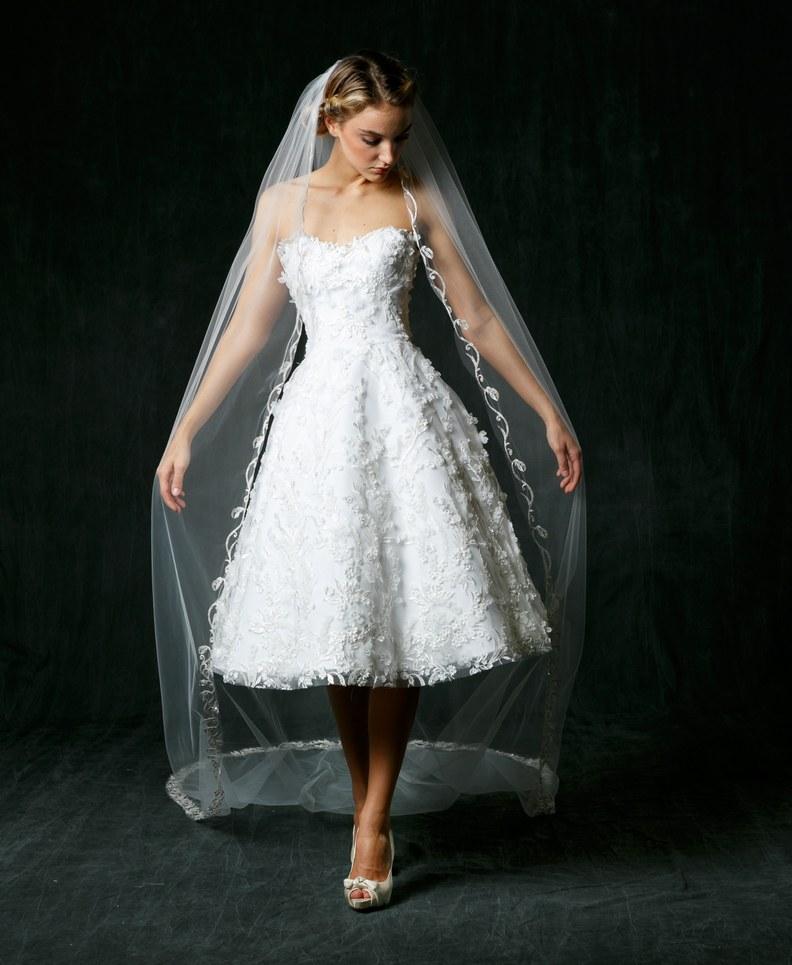 Sareh Nouri | | Bridal Fall Fashion Show- 2017 (Image Source: Brides.com)