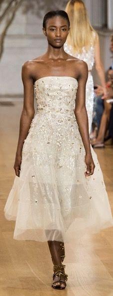 Oscar de la Renta, vestido de novia 2017