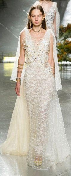 Rodarte, vestido de novia 2017
