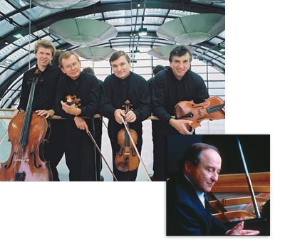 Prazak Quartet, Menahem Pressler