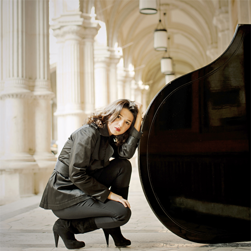 Khatia Buniatishvill, pianist