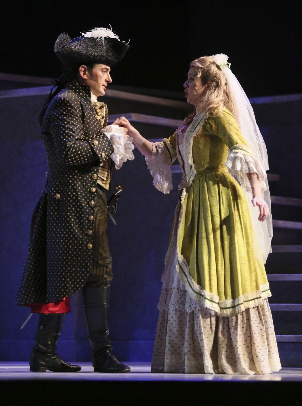 Brett Polegato as Don Giovanni/ Rachel Fenlon as Zerlina
