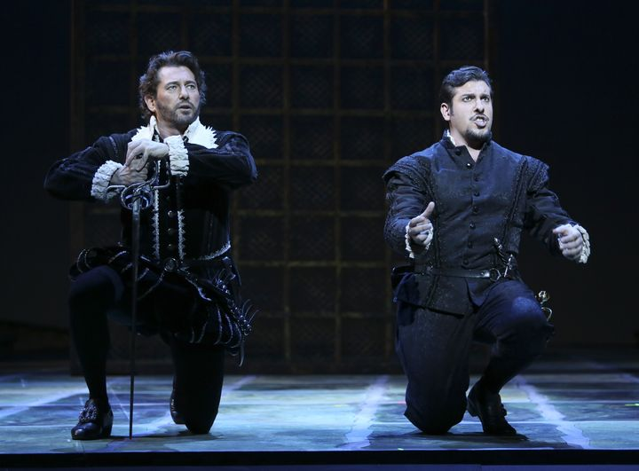 Brett Polegato as Rodrigo and Andrea Carè as Don Carlo