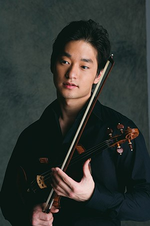 Violinist Ryu Guto
