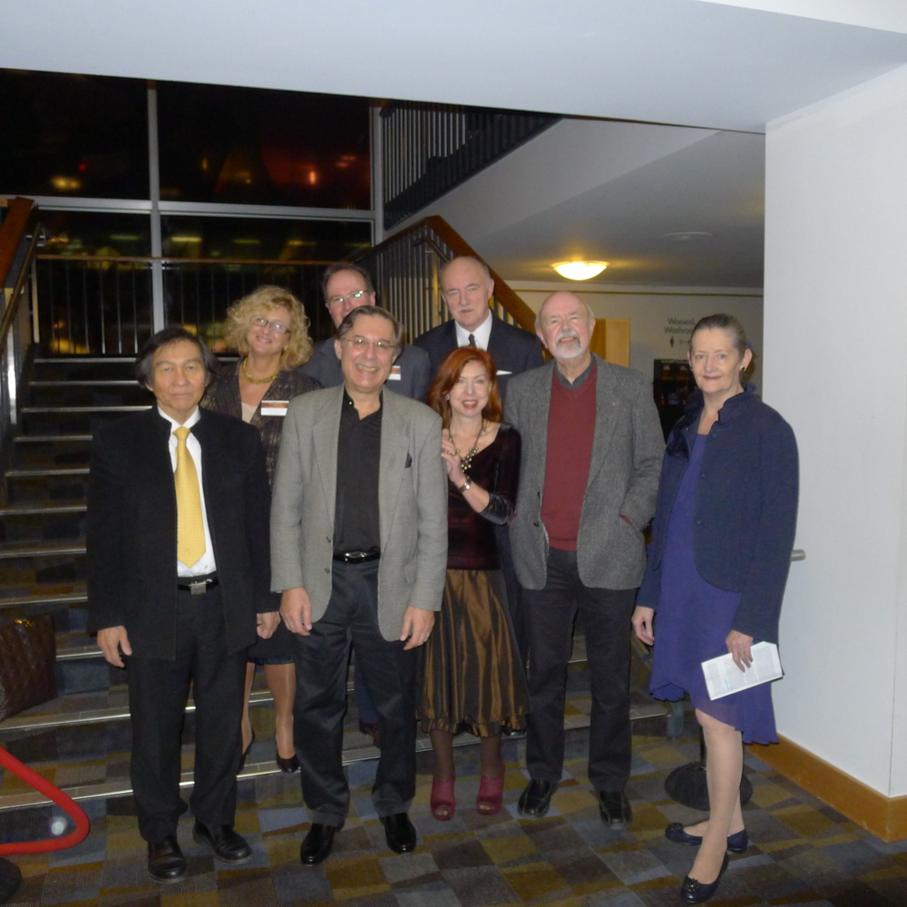 With the Vancouver Chopin Society Executive