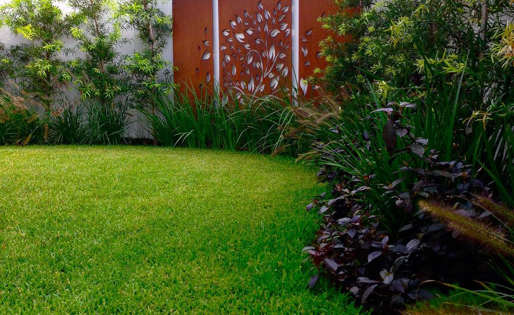 Front garden feature wall matraville terraneo for Landscape design sydney