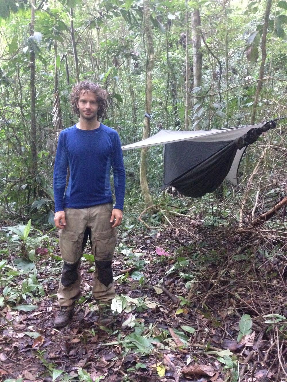 Hängmattan i Costa Ricas jungel