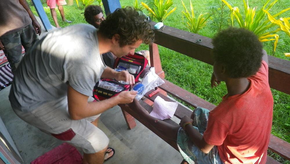 Såromläggning i Vanuatu