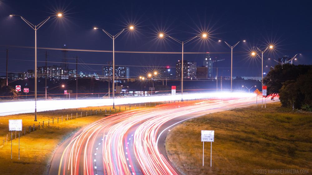 Evening Mopac traffic