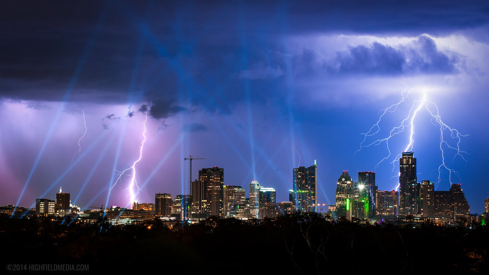 Thunderstorm over ACL