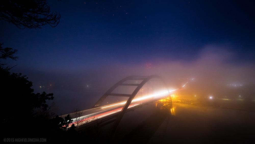 Pennybacker in Fog