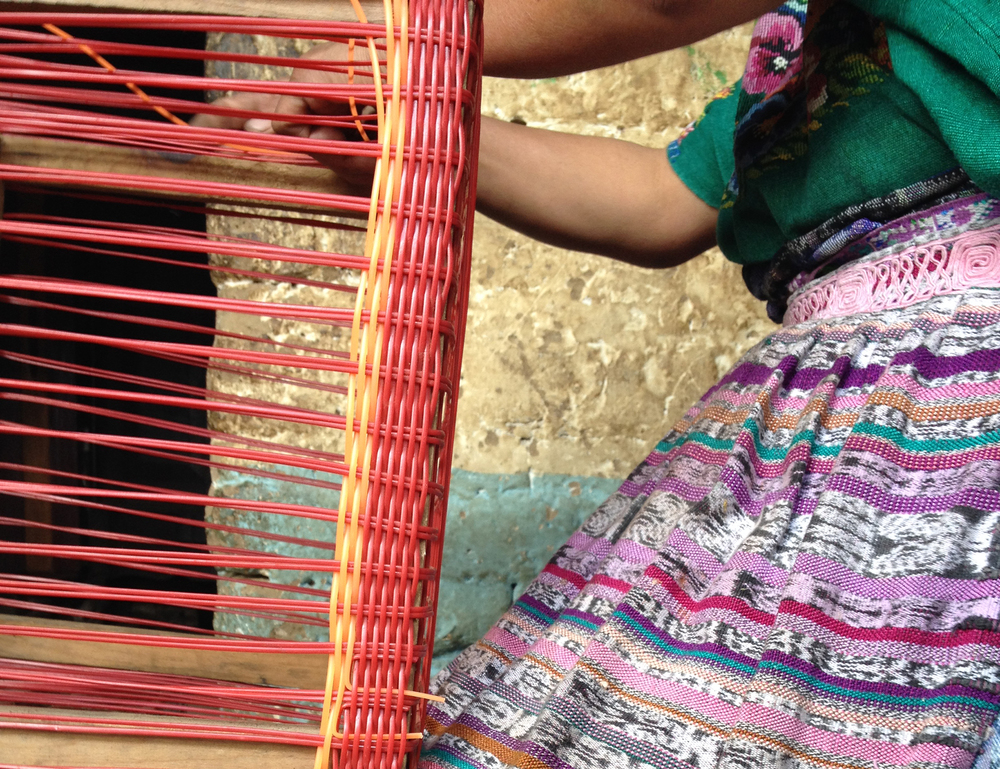 guatemalan artisan and her colors, 2013