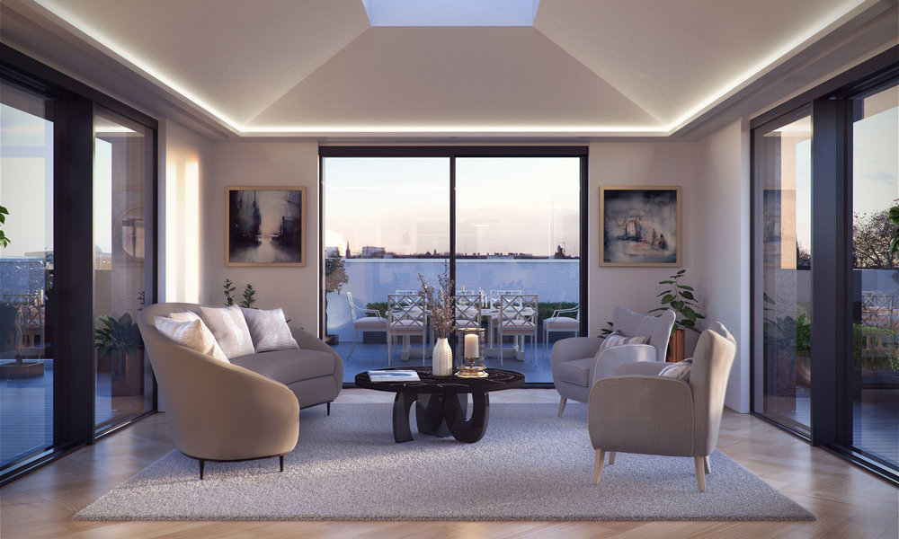 50 Kensington Garden Square Penthouse