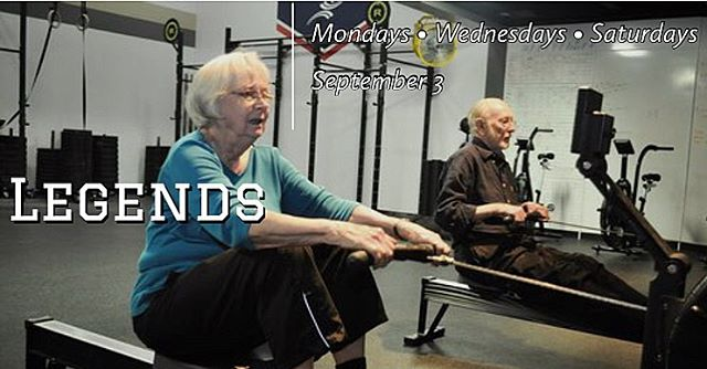 We are excited to add Legends to our class offerings! This class is aimed at athletes in the 50+ population that are looking to improve their ability to perform activities of daily living such as sitting and standing, getting up from the ground, placing objects on shelves overhead, etc.  Mondays, Wednesdays, and Saturdays 10:30-11:00am at Razorback CrossFit, starting September 3rd. There is no cost for this class.  Please spread the word and invite your friends and family! Let us know if you have any questions.  #razorbackcrossfit #crossfit #theathleticclub