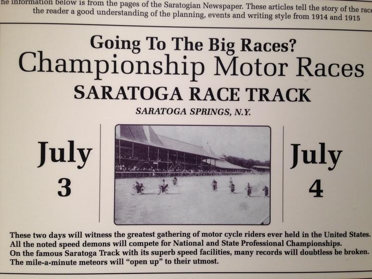 100 Years of Saratoga — SAM