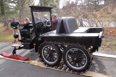 Model t school: Come play in the snow with us at SAM
