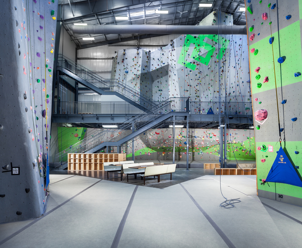 2nd Floor Climbing Area | WEST