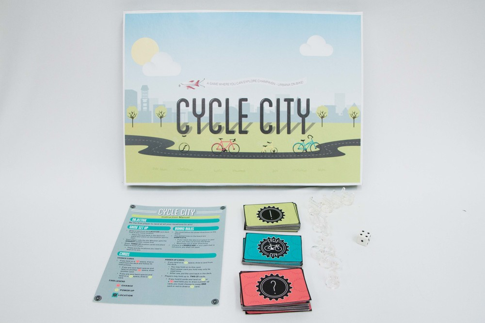 Alyssa Sparacino, Eric Pryor, Adina Sayef. Cycle City.