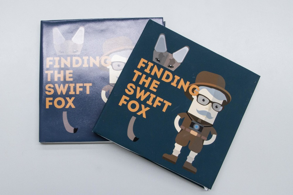 Courtney Podogorski, Swift Fox. Finding the Swift Fox illustrated book.
