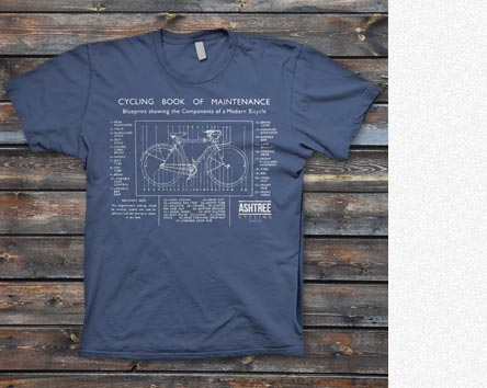 ASHTREE Cycling T-Shirt MERCH (ANIMAL STORE)