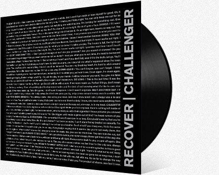 RECOVER    Challenger LP    LTD VINYL(ANIMAL STORE)    DIGITAL (ITUNES)